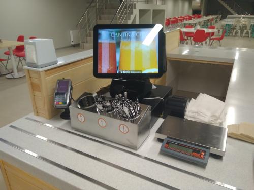 Автоматизация столовой в Сколково
